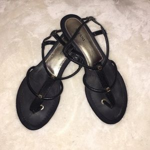 Alfani Black Sandals